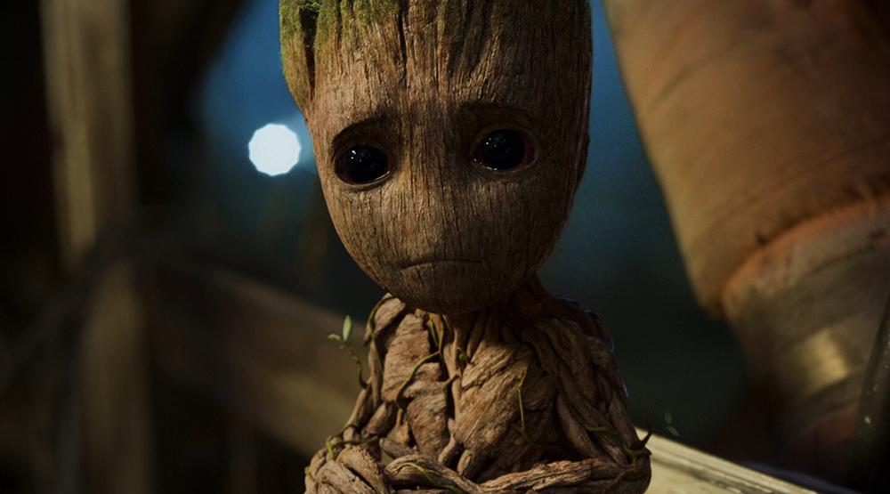 В «Войне Бесконечности» Грут мог стать «рюкзаком» гнома Эйтри