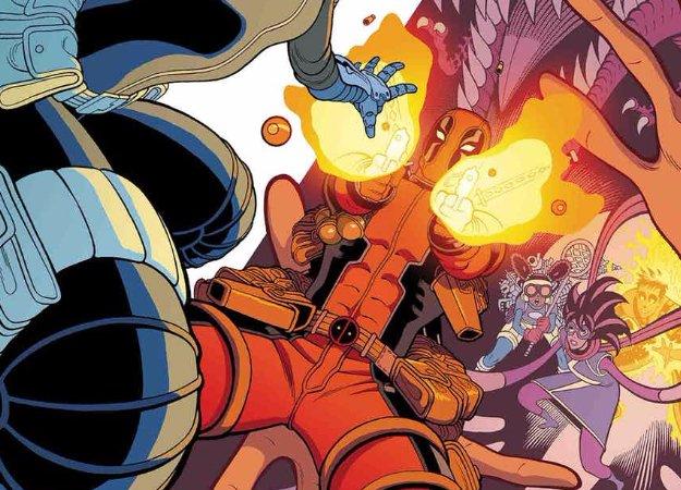 Выжимка. Почему отряд сверхлюдей хочет убить Дэдпула?