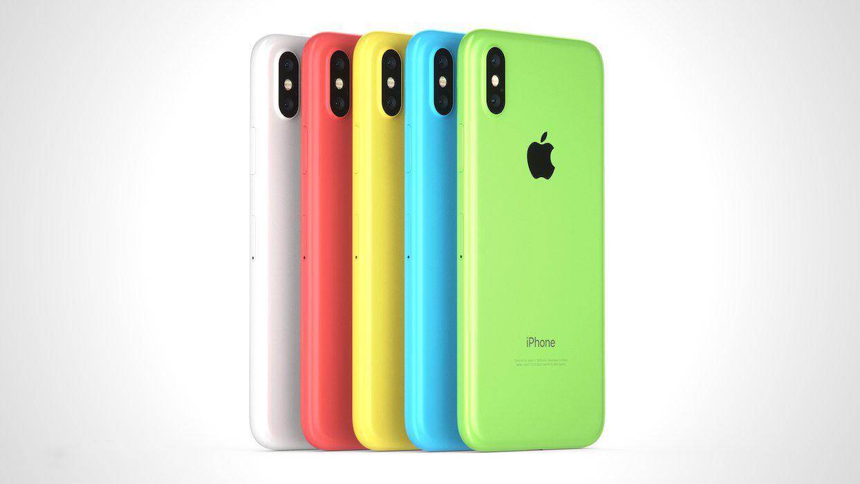 Помните iPhone 5c? Вот так может выглядеть яркий и дешевый iPhone Xc