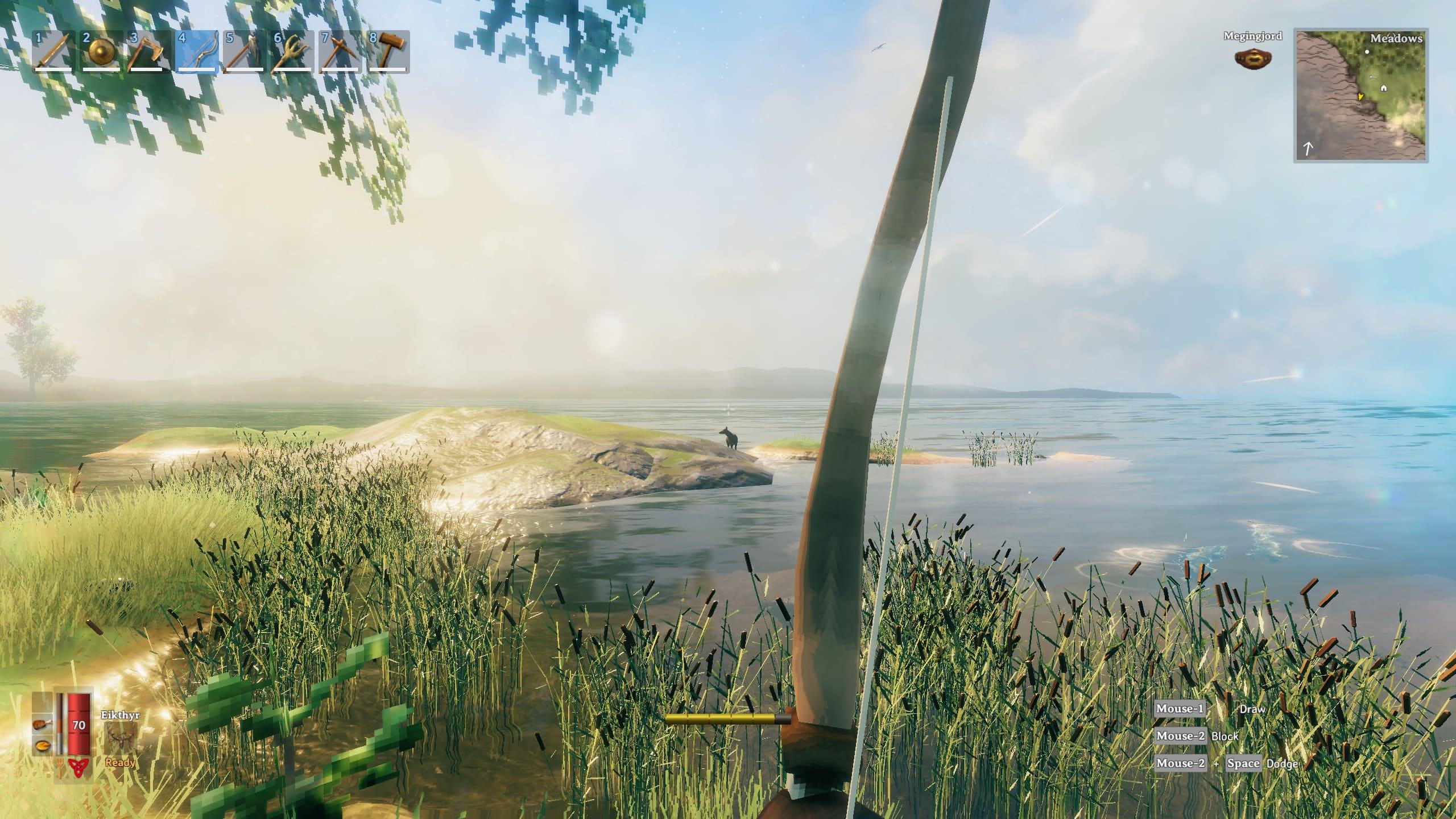 В Valheim появился мод для игры от первого лица — игра стала выглядеть еще лучше