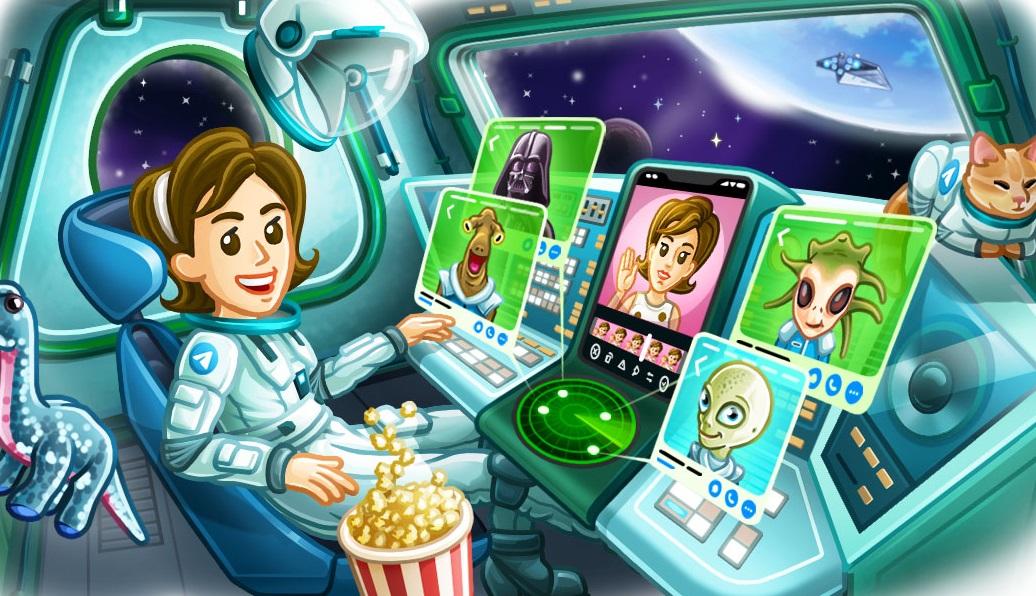 Большое обновление Telegram: видеозвонки, «живые» аватары, настройки уведомлений имногое другое