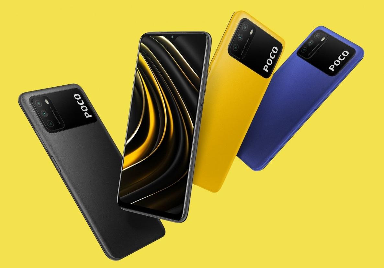 Xiaomi представила Poco M3— бюджетный смартфон сбатареей 6000 мАч инеобычным дизайном