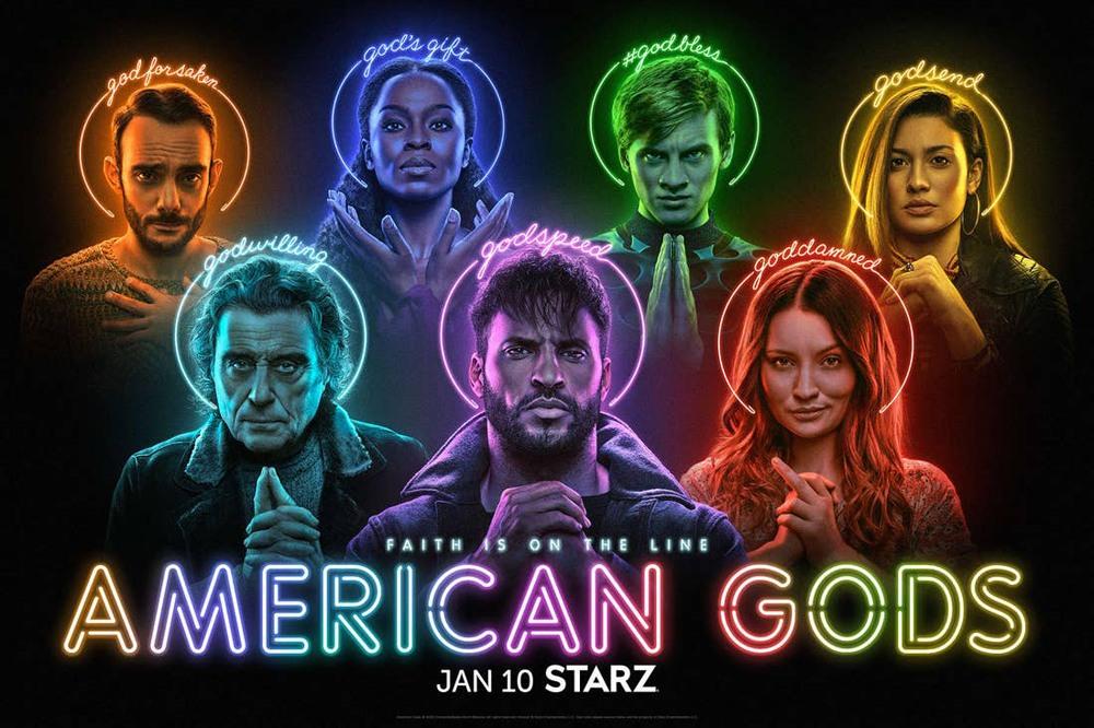 Сериал «Американские боги» закрыли спустя три сезона из-за падения рейтингов