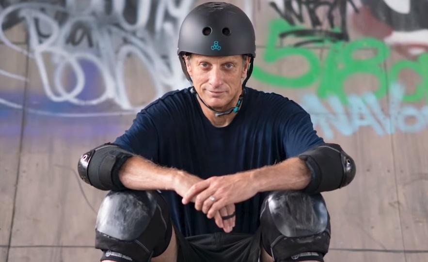 Тони Хоук покатался навоссозданном вжизни уровне изигры Tony Hawk's Pro Skater