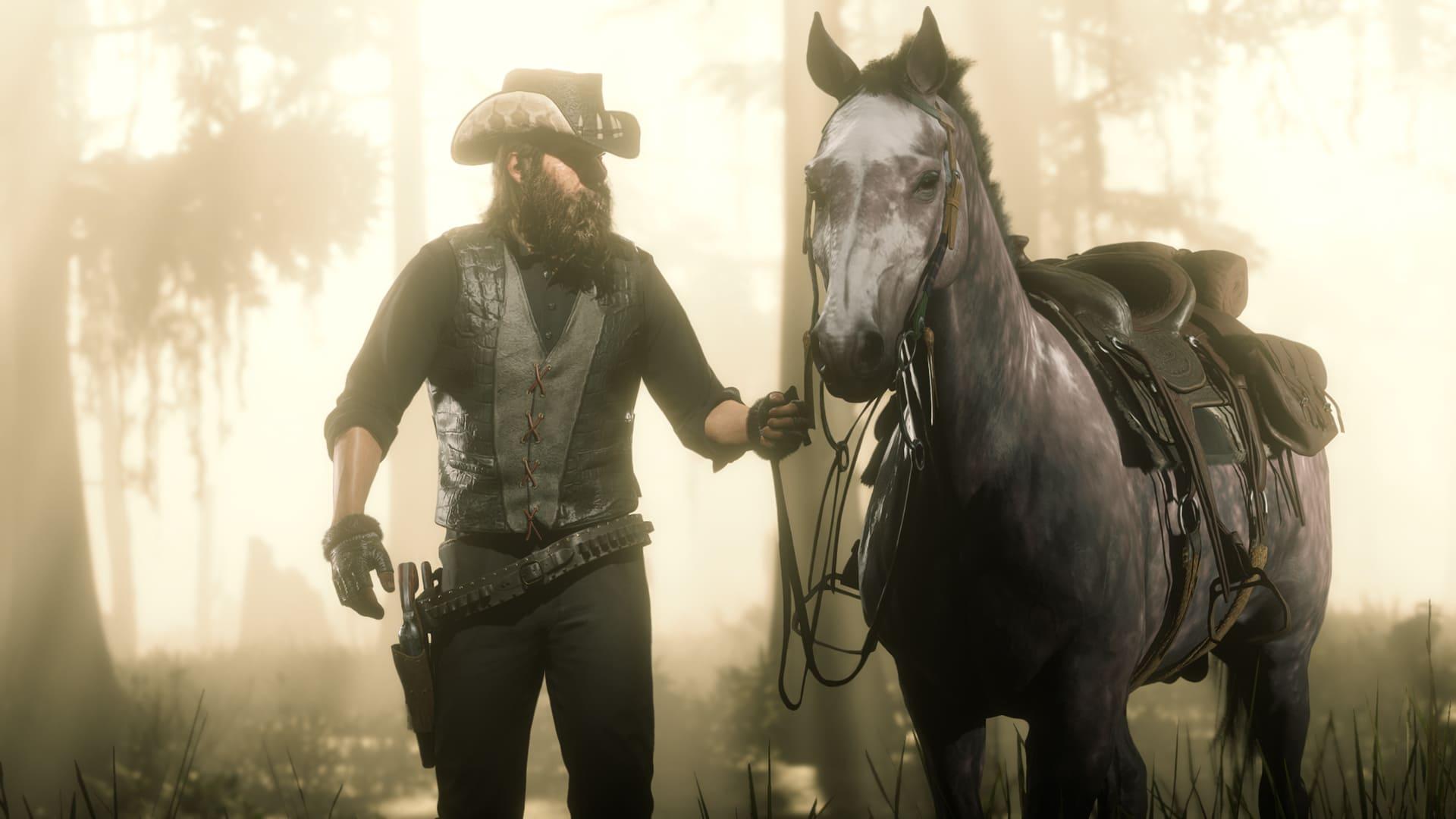 Обновление Red Dead Online свело лошадей сума. Они паникуют иисчезают