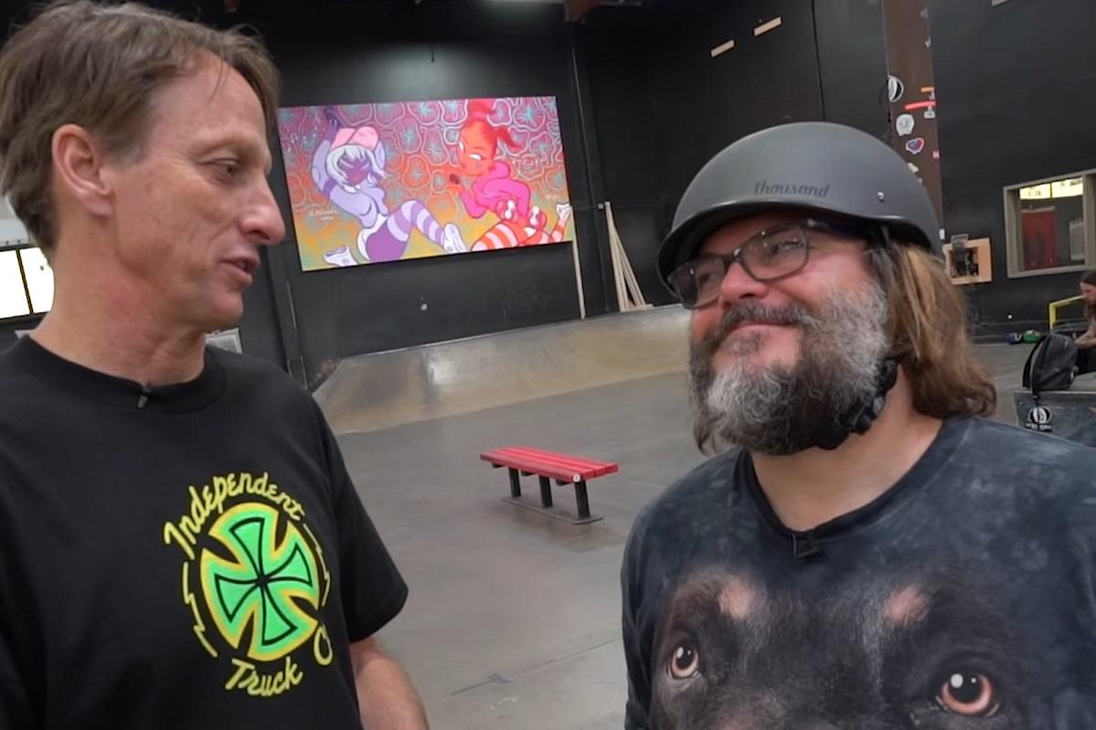 Джек Блэк сыграл сТони Хоуком времастер Tony Hawk's Pro Skater