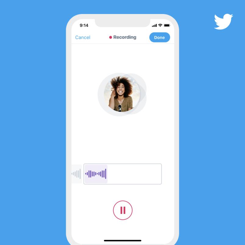 ВTwitter появилась возможность публиковать голосовые твиты
