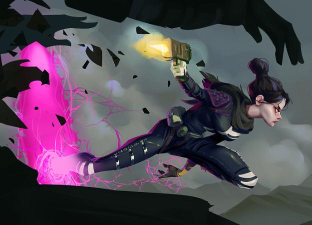 Утечка: появились скриншоты с новым героем Apex Legends. Он похож на Крысавчика из Overwatch!
