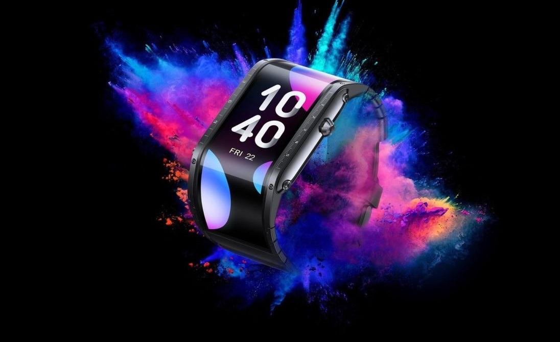 Смарт-часы Nubia Watch получили изогнутый корпус иогромный экран
