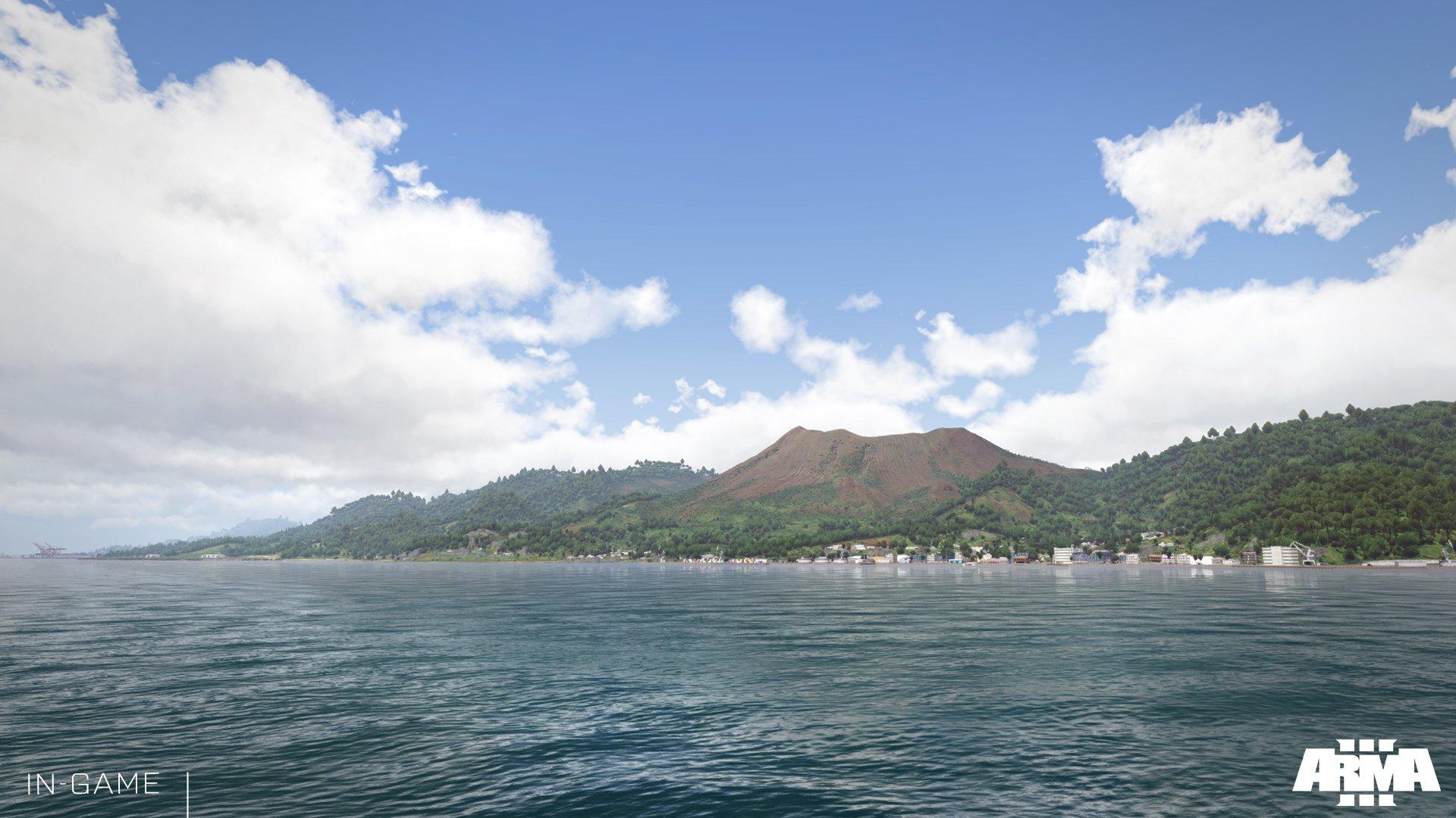 Разработчики Arma 3 знакомят игроков с островом Таноа