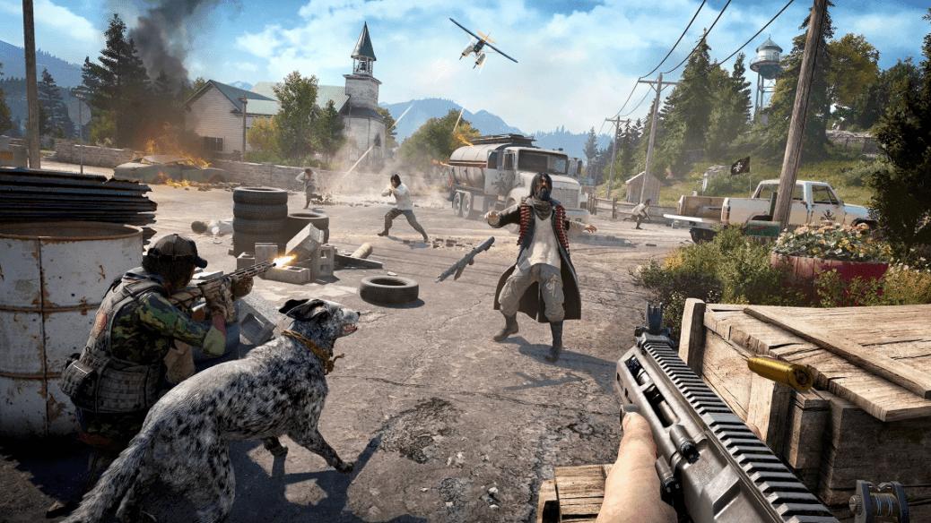 Бесплатная Far Cry 5 уже вэти выходные