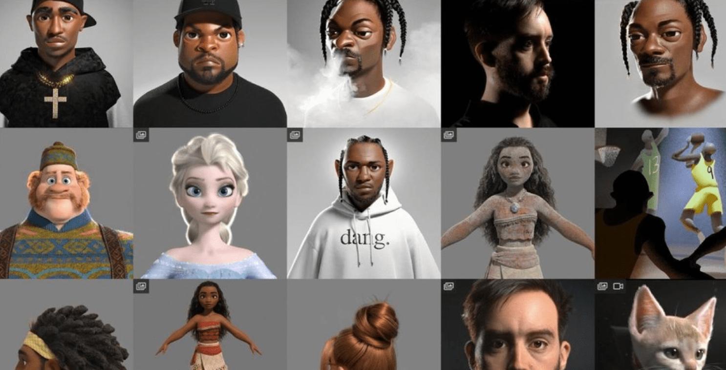 Аниматор из«Дисней» показал, как известные рэперы моглибы выглядеть вмультике