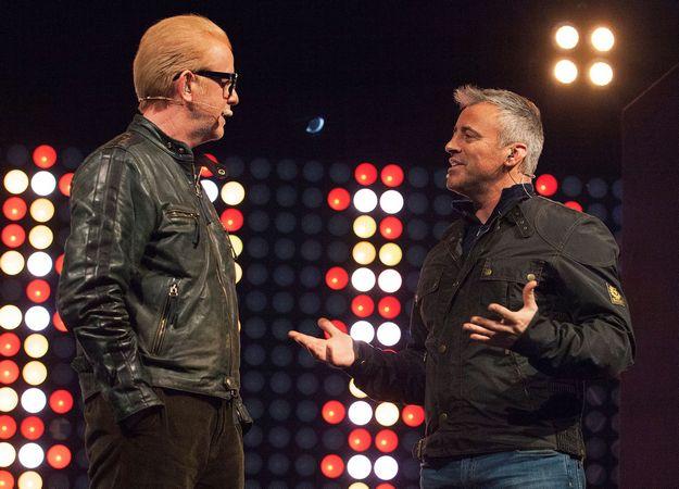 Раскол в Top Gear: Мэтт Леблан против соведущего Криса Эванса