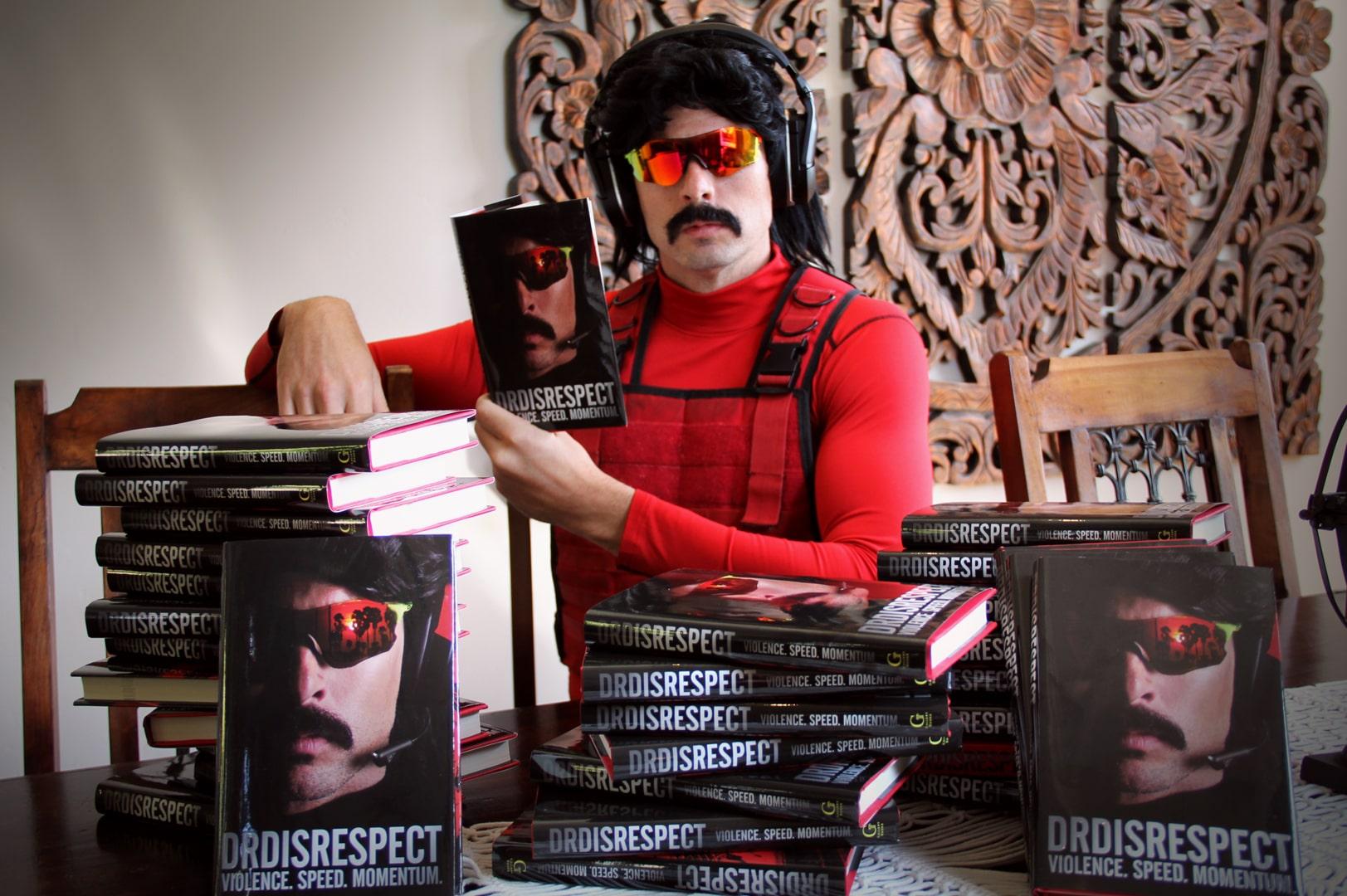 Популярный стример Dr. Disrespect выпустил книгу