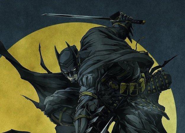 Nani?! Аниме Batman Ninja покажет нам схватку Бэтмена иДжокера накатанах!
