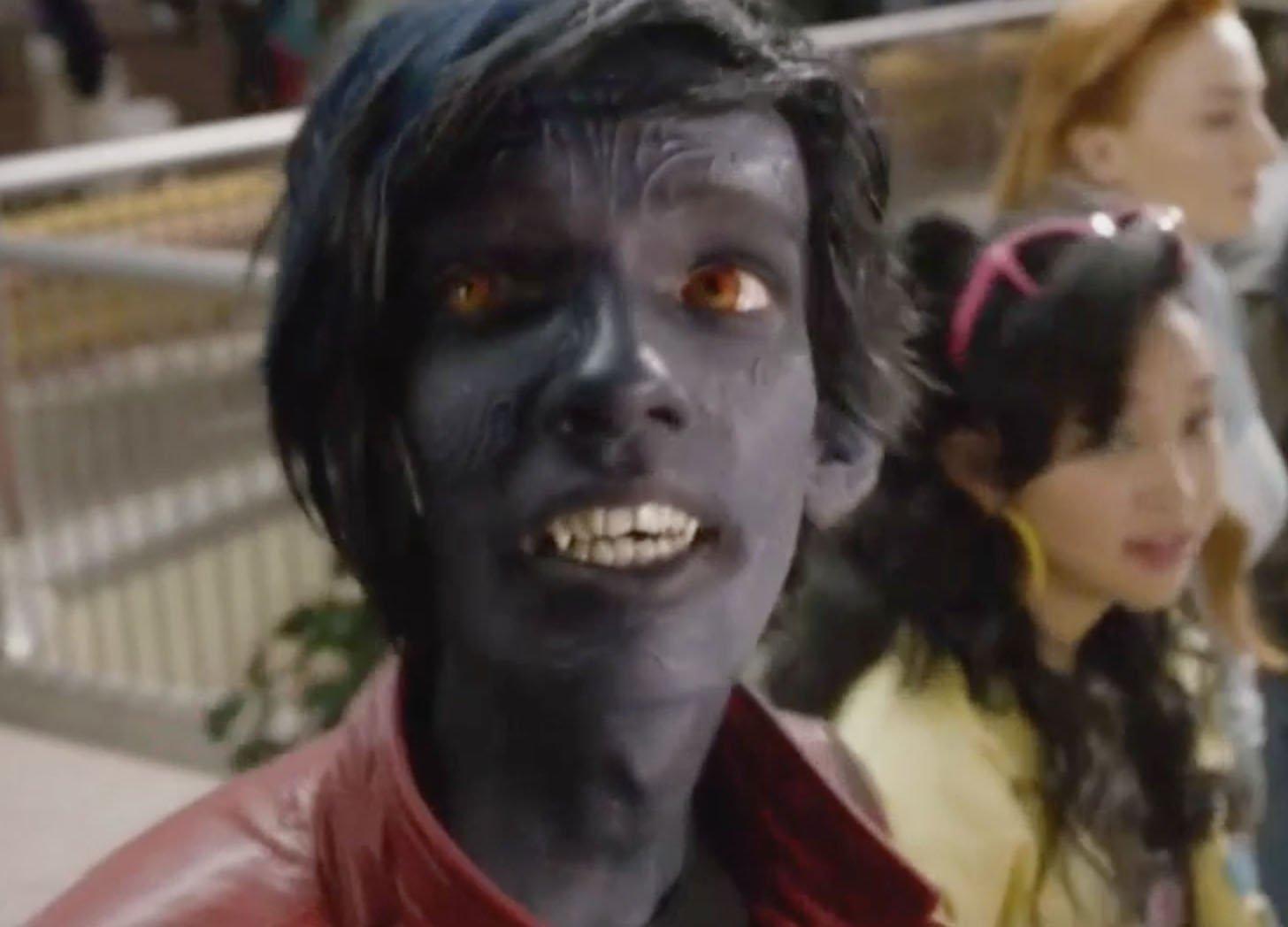 Удаленная сцена «Люди Икс: Апокалипсис» показала мутантов за игровыми автоматами