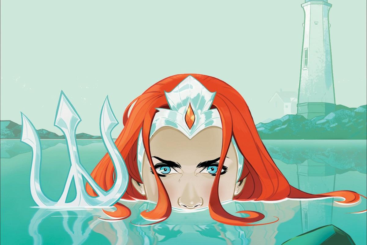 История знакомства Меры иАквамена.Смотрим превью комикса онаследнице трона Ксебела