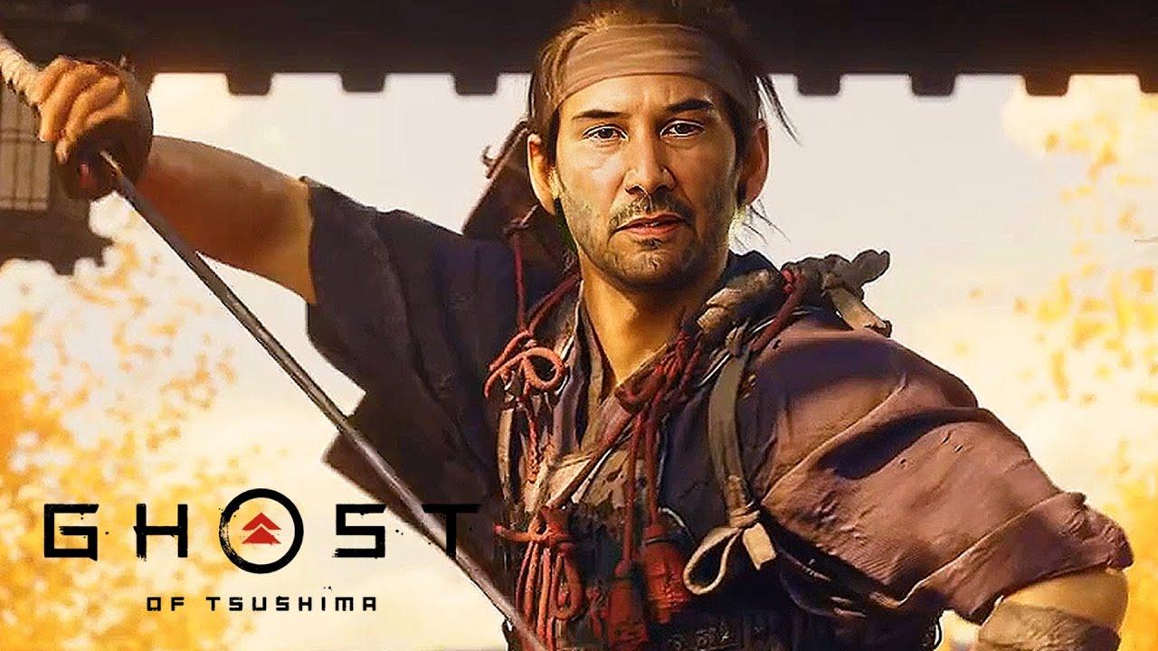 Киану Ривз стал героем Ghost ofTsushima. Все благодаря DeepFake