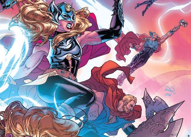 Юбилейный выпуск «Тора» показывает будущее, прошлое инастоящее Асгарда