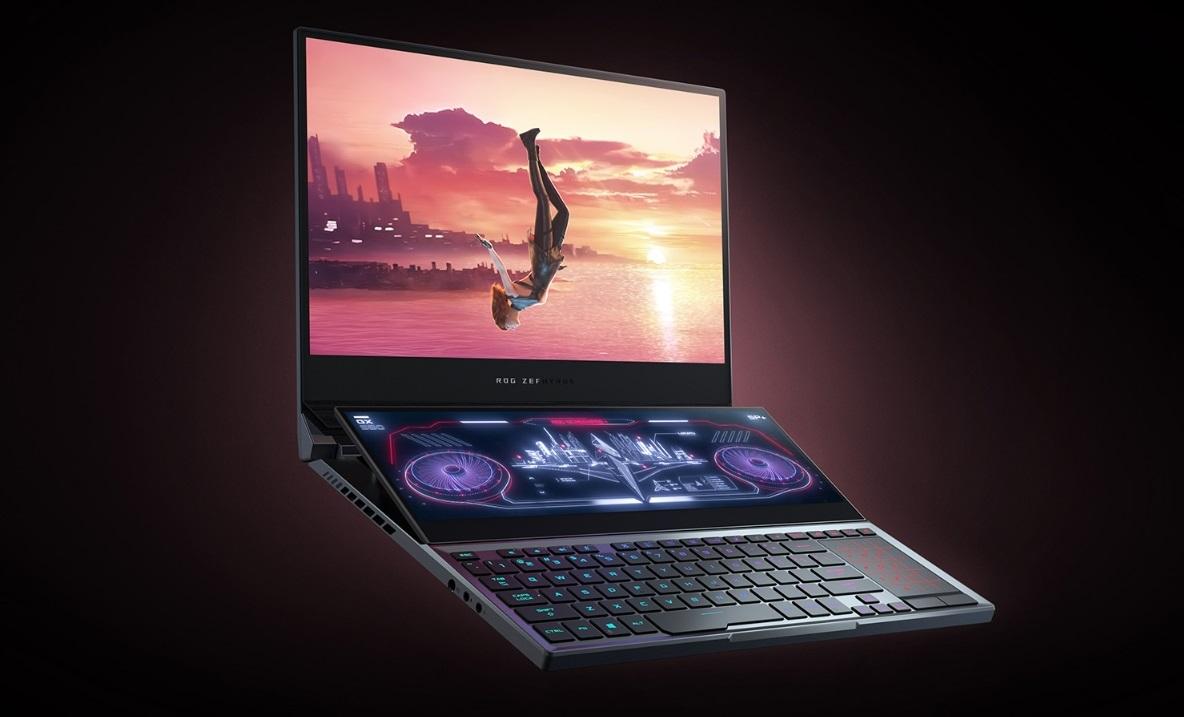 Asus представила ROG Zephyrus Duo 15: двухэкранный геймерский ноутбук поцене от254000 рублей