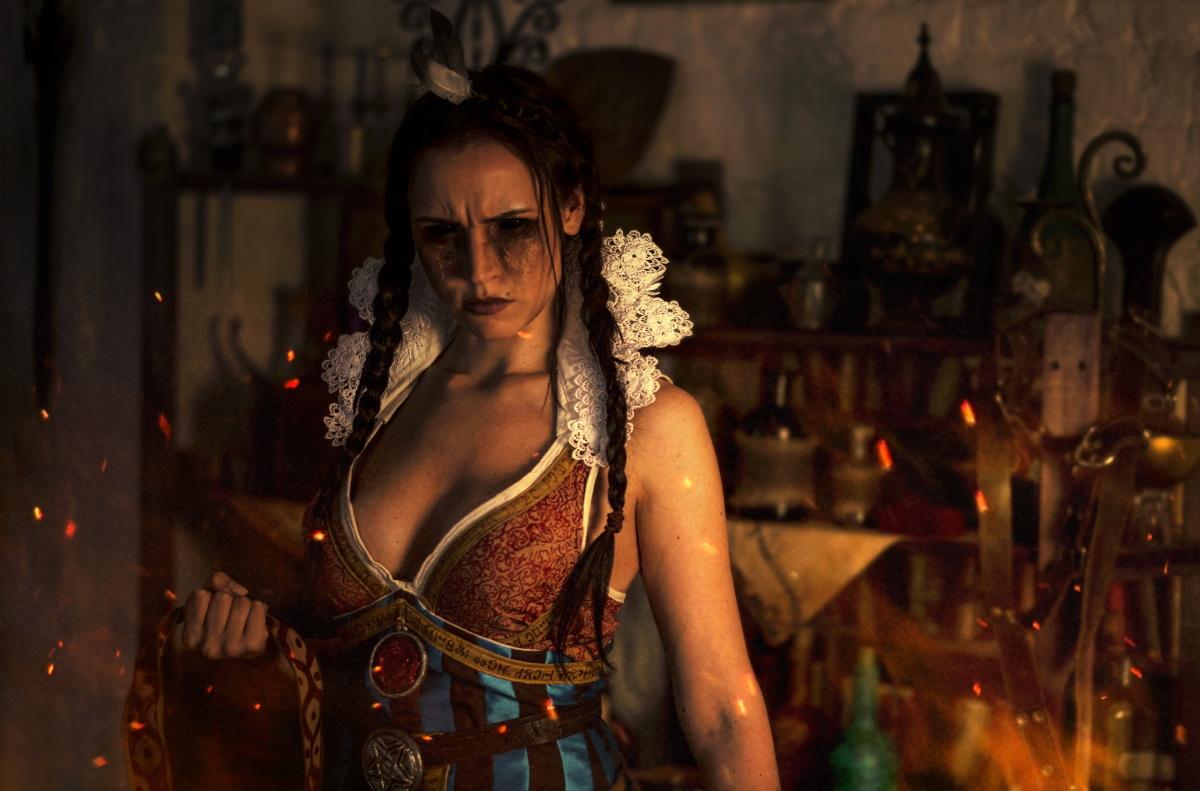 Русский косплей Филиппы Эйльхарт из«Ведьмака»: такую чародейку хочется спасти