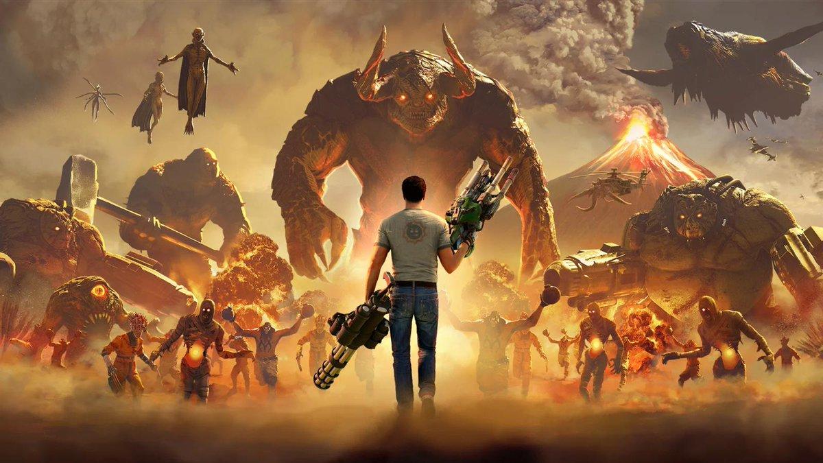 Serious Sam 4 выйдет наPS4 иXbox One нераньше 2021 года