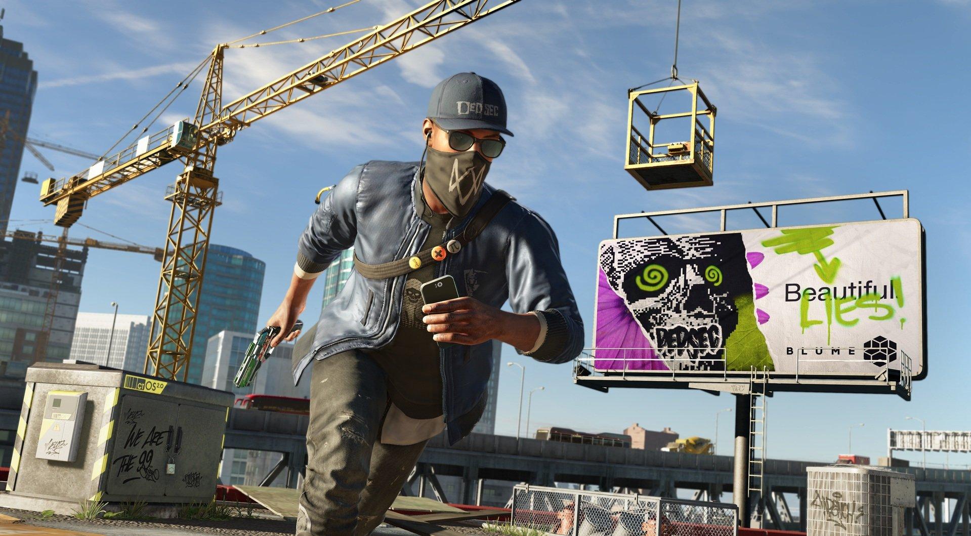 Ubisoft несмогла раздать Watch Dogs 2 вовремя своей презентации. Игру отдают сейчас