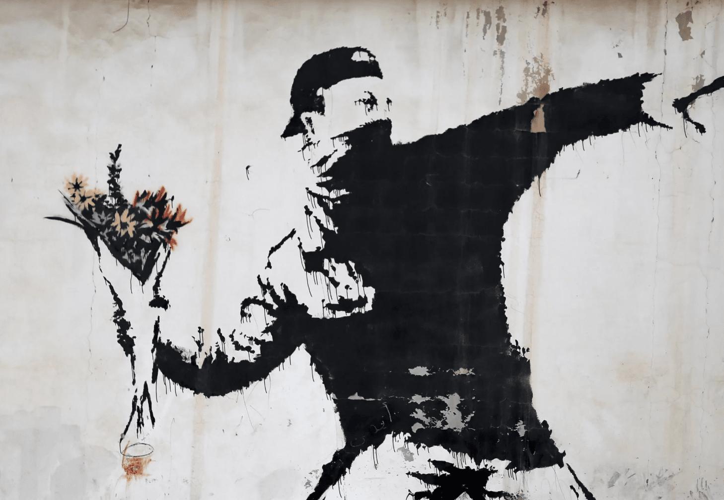 Авторство Бэнкси приписывают новому граффити настене дома вБристоле