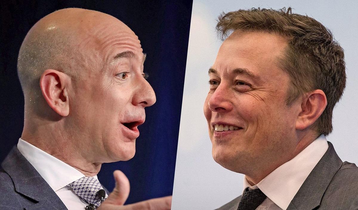 Состояние Илона Маска уже больше $100 млрд, ауДжеффа Безоса $200 млрд