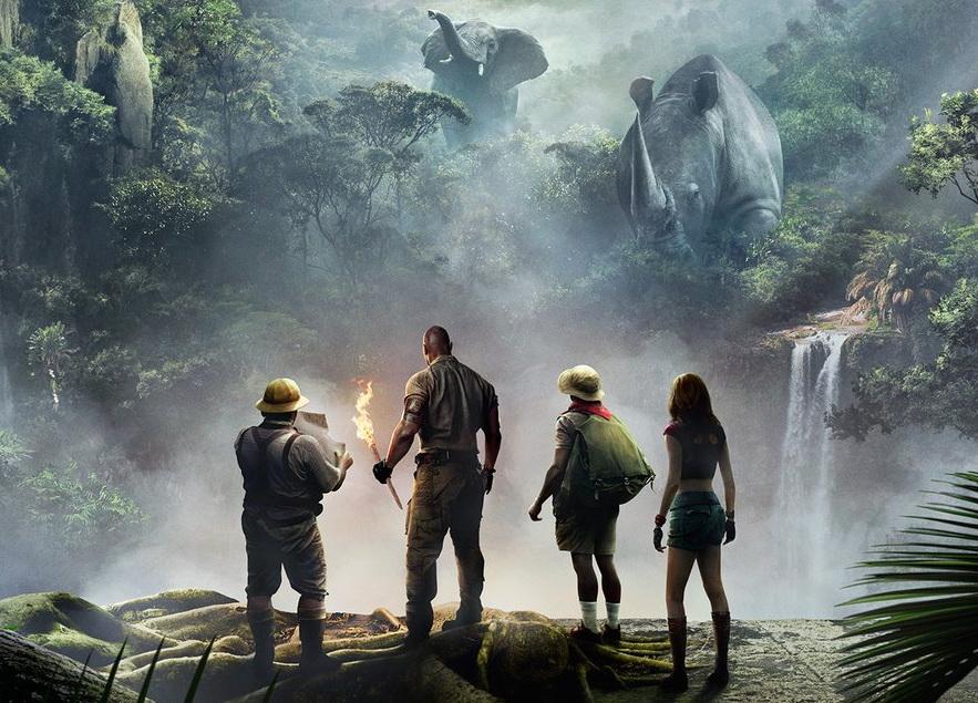 Рецензия на«Джуманджи: Зов джунглей»