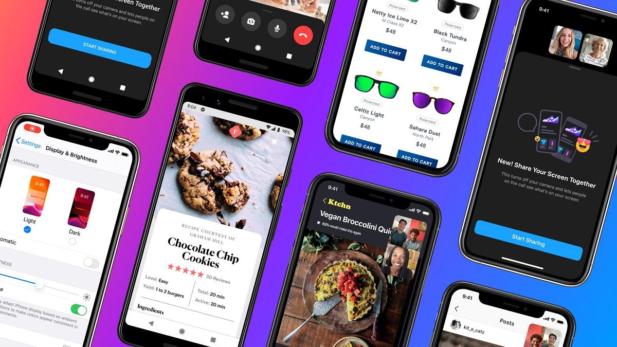 Facebook Messenger получил функцию показа экрана смартфона вовремя разговоров