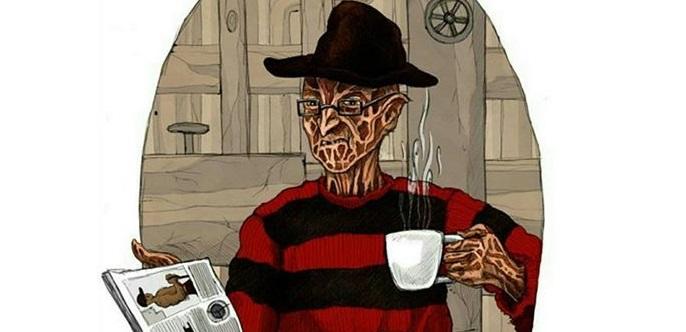 Жертвы Фредди Крюгера теперь неуснут: Роберт Инглунд выпустит марку кофе