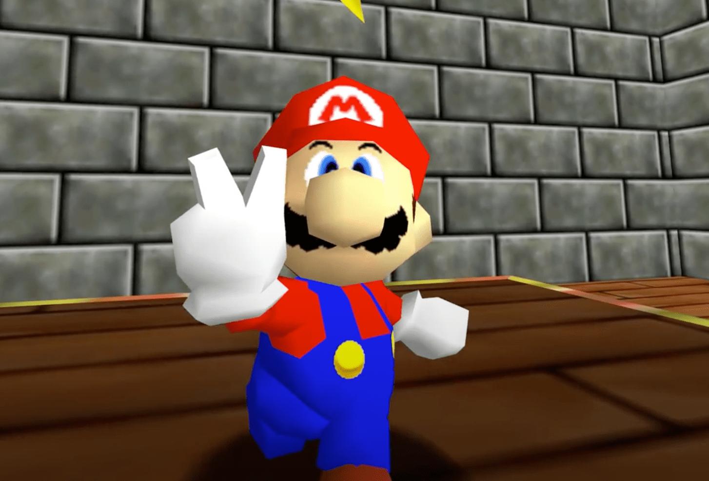 Фанаты портировали Super Mario 64 нaPC. Теперь игра идет в4К