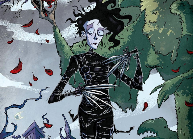 Ради чего стоитчитать комикс «Эдвард Руки-ножницы: Неизвестные детали»?