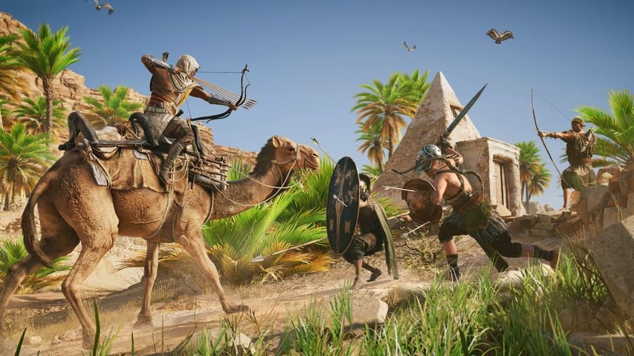 Бесплатные выходные пройдут вAssassin's Creed Origins