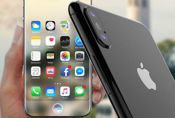 iPhone 8 уже вышел вКитае. Подделка, разумеется, нокакая!