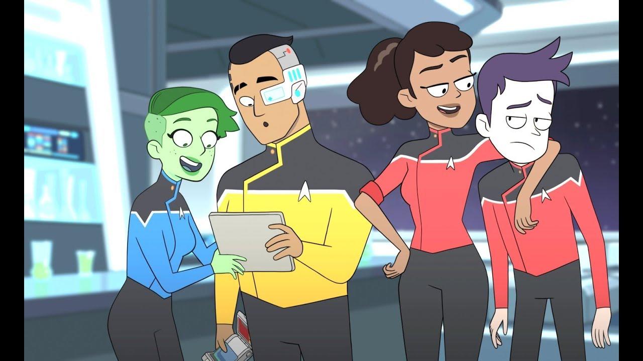 Вышел трейлер анимационного Star Trek отсоавтора «Рика иМорти»