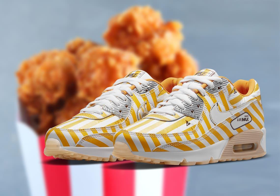 Оторви корочку на кроссовках. Новые «Найки» стилизуют под жареную курицу