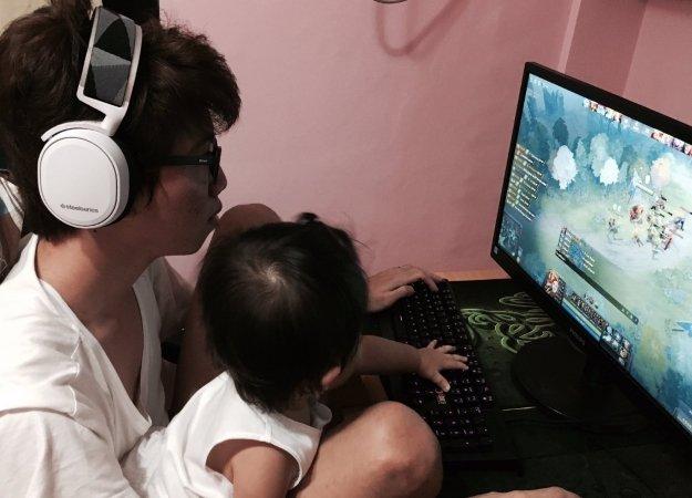Назвал дочь в честь героя из Dota 2. Отец-киберспортсмен