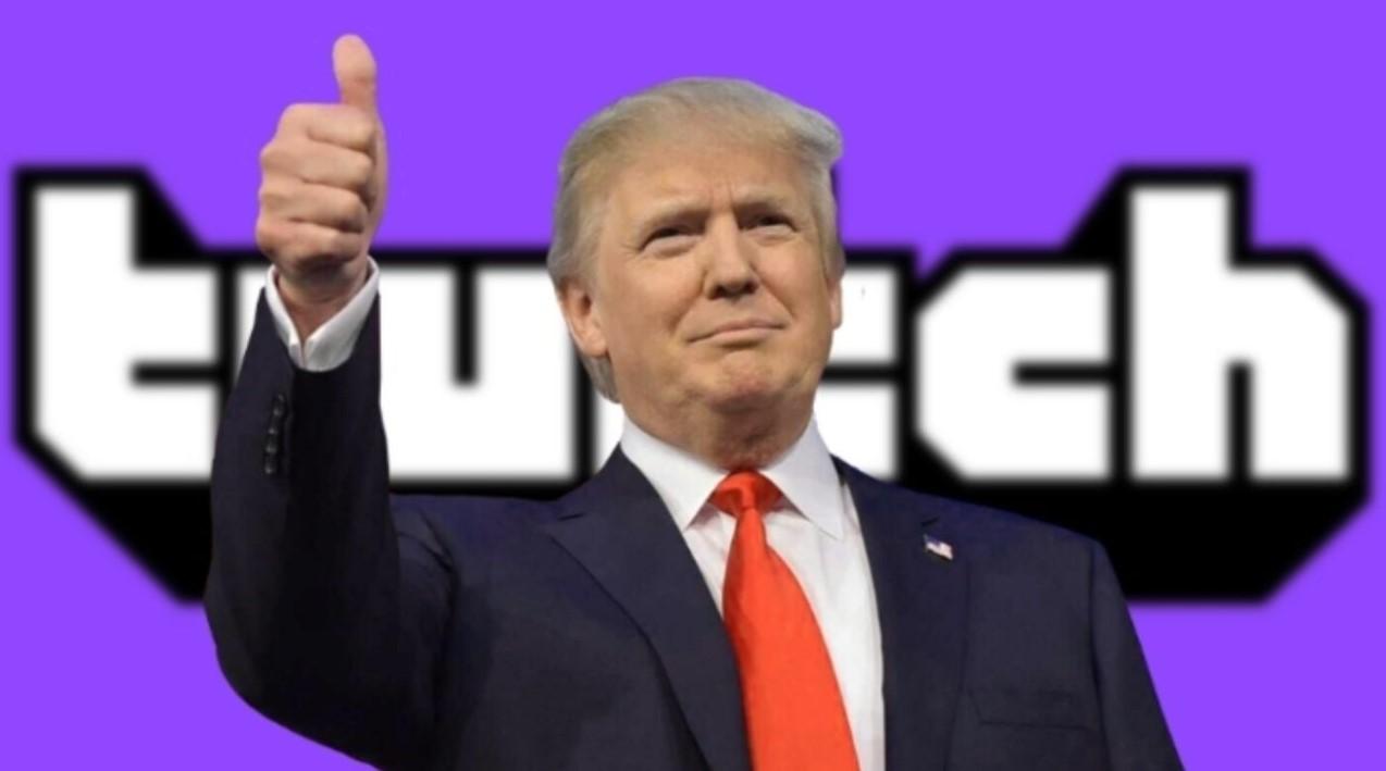 Twitch заблокировал канал Дональда Трампа. Причина— проявление ненависти