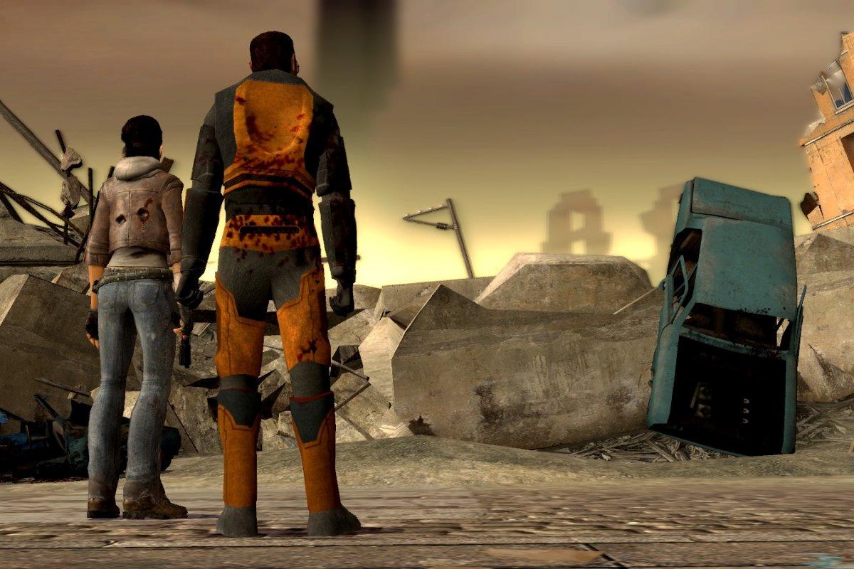 Моддер переносит Half-Life 2 надвижок Half-Life: Alyx. Как это выглядит
