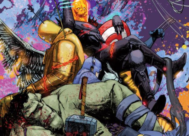 Космический Призрачный гонщик уничтожает вселен… историю Marvel?