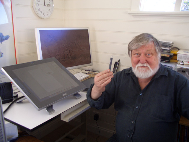 Скончался художник Рон Кобб. Онпридумал дизайн машины времени из«Назад вбудущее»
