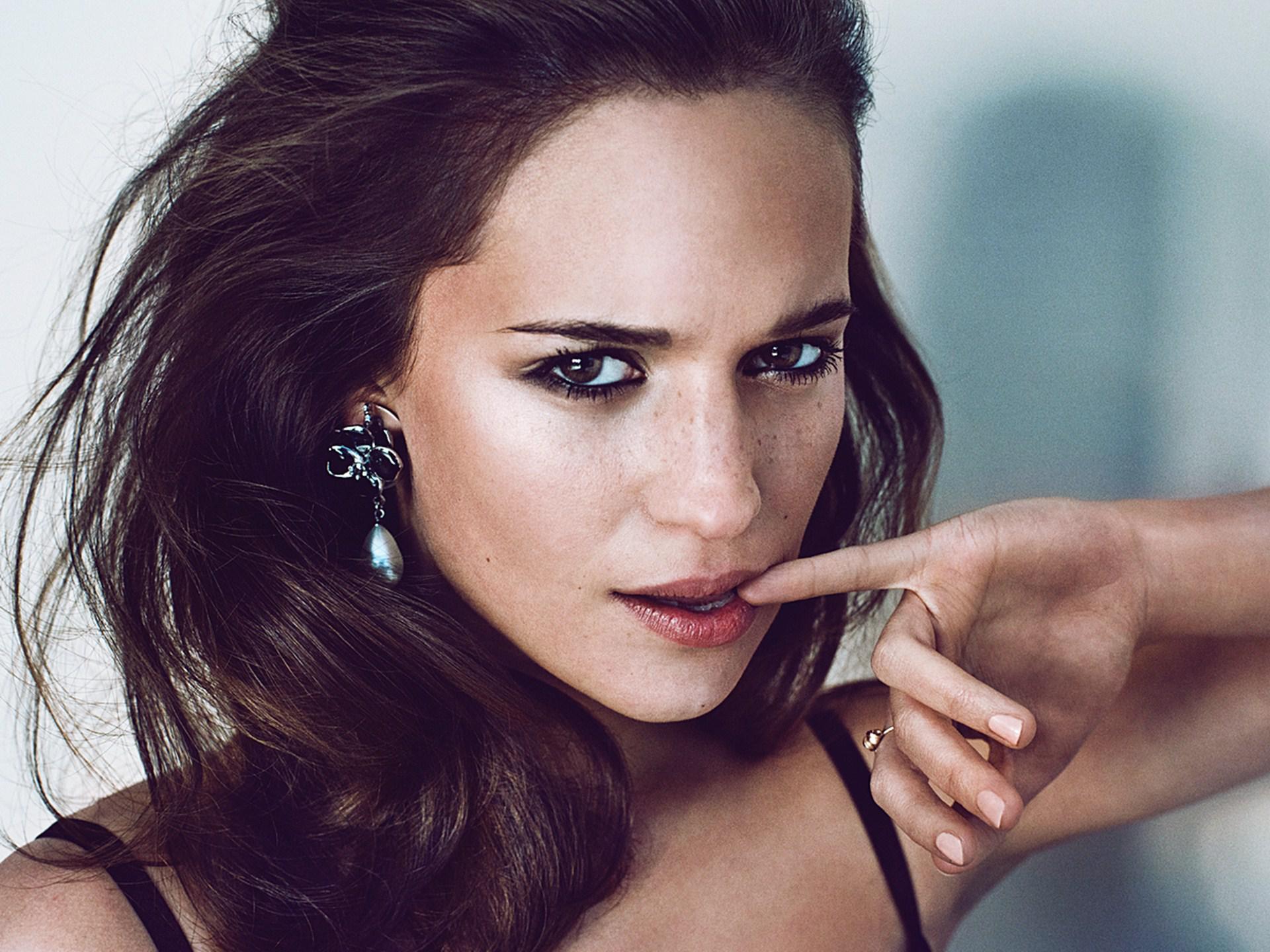 Новая Лара Крофт Алисия Викандер рассказала о ребуте Tomb Raider