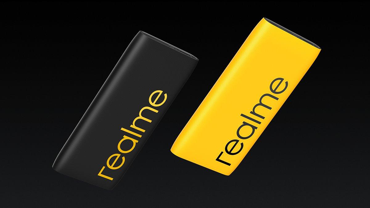 Портативная батарея Realme Power Bank 2 на10000 мАч сбыстрой зарядкой 18 Втстоит 900 рублей