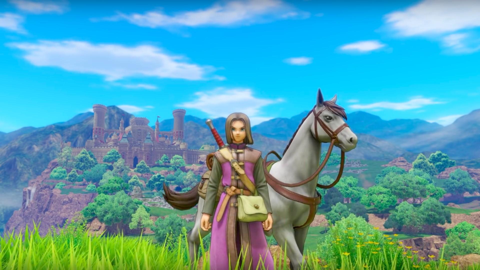 50 невероятно красочных скриншотов Dragon Quest XI
