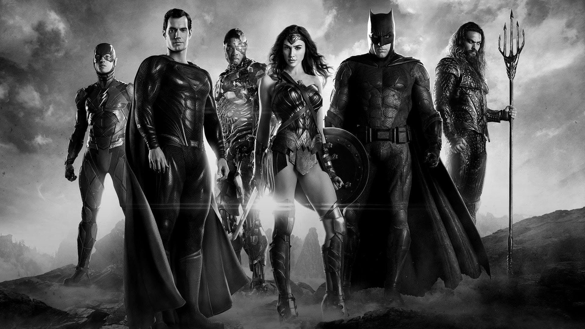 HBO Max показал черно-белый трейлер «Лиги справедливости» Снайдера сновыми кадрами