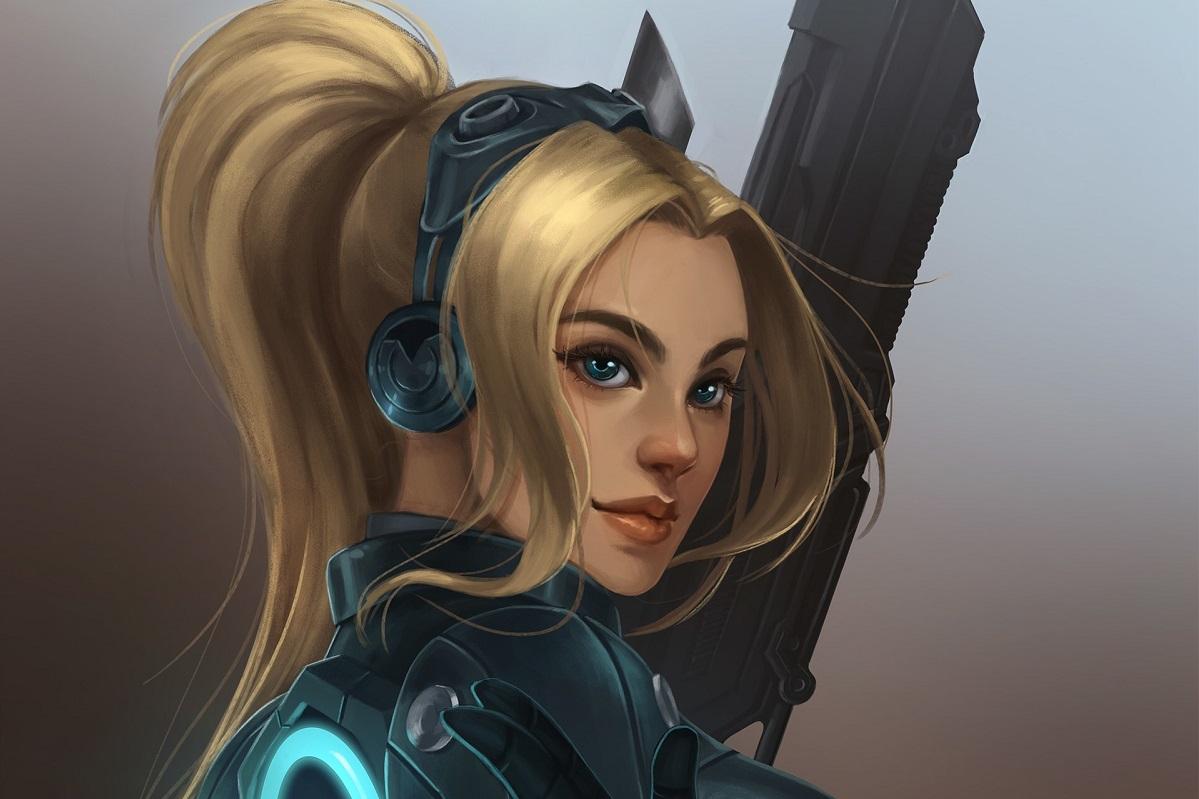 Всеть утекла рабочая версия StarCraft Ghost. Это отмененная игра Blizzard