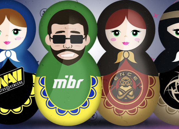 На турнире по CS:GO BLAST Pro Series Moscow будут разыграны 2 путевки в Копенгаген