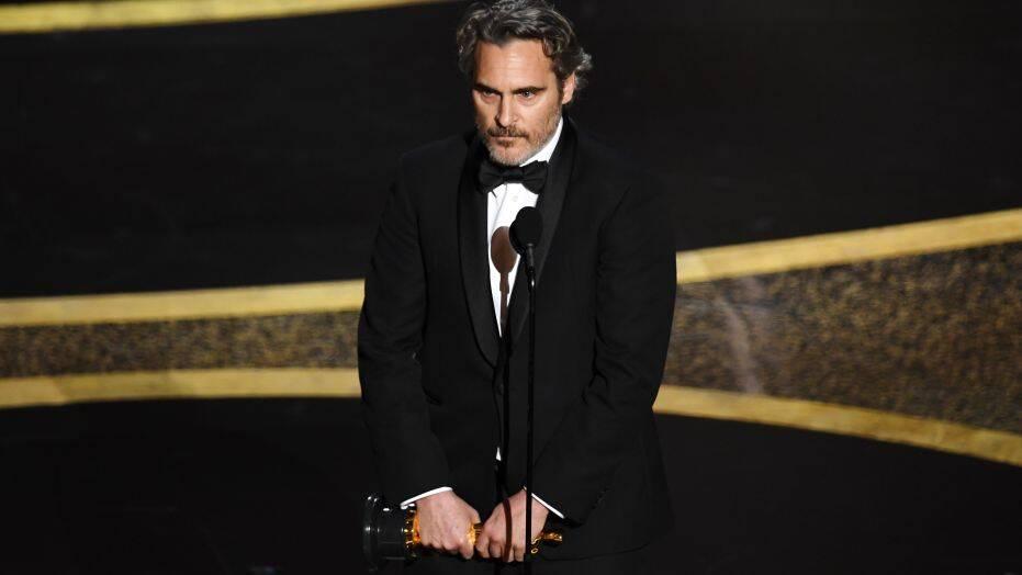Хоакин Феникс получил «Оскар» ипроизнес потрясающую речь